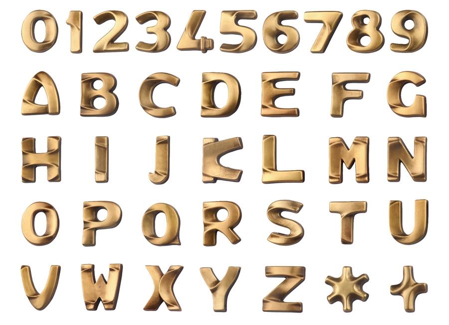 Arte funeraria lettere cimiteriali croci lettere per for Lettere in metallo per arredare